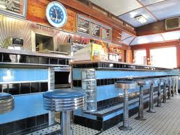 Photo of interior of A-1 Diner