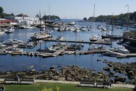 Photo of harbor of Camden, Maine