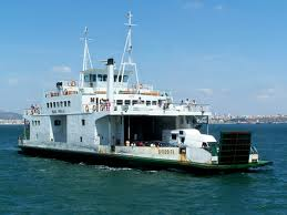 Photo of ferry boat for people and cars.