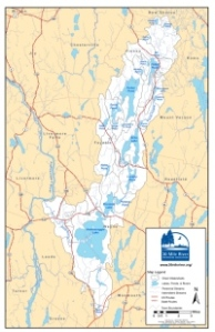 30 Mile River Watershed Map