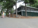 Photo of the Androscoggin Yacht Club building.